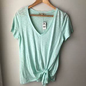 Tops - NWT Express Side Tie Shirt